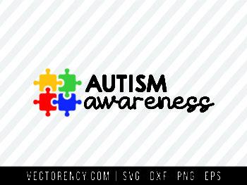 Autism Awareness SVG Cut File