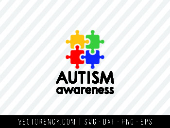 Autism Awareness SVG Cut File