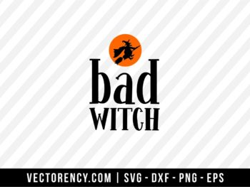 Bad Witch SVG Cut File