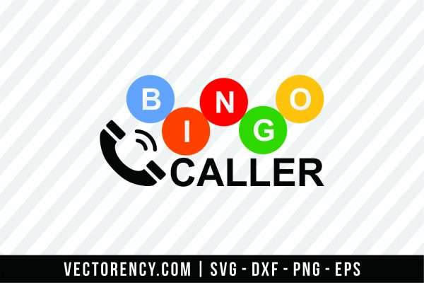 Bingo Caller SVG File