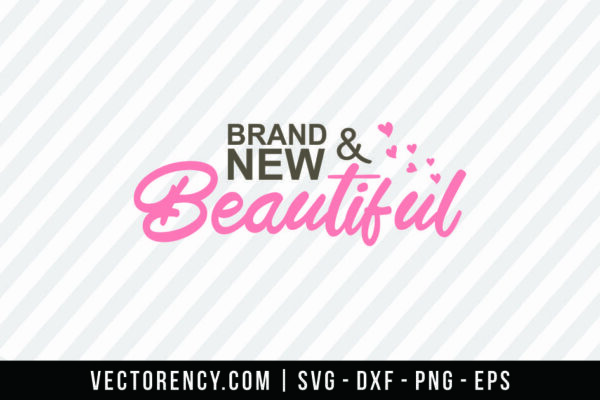 Brand New And Sport SVG Digital File