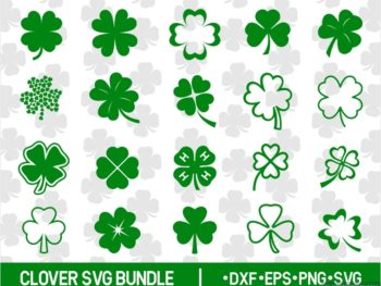 Clover Cut Files Bundle