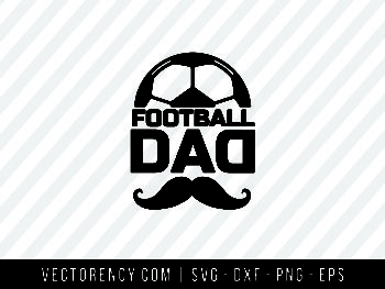 Football Dad SVG File
