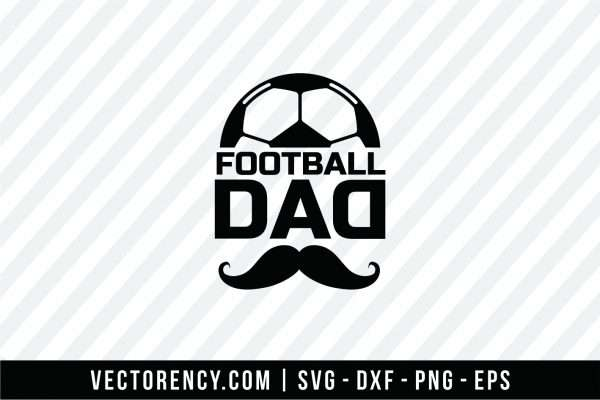 Football Dad SVG File