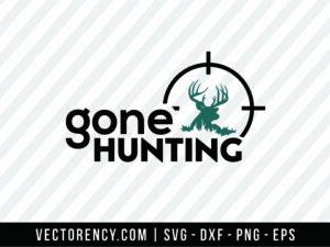 Gone Hunting SVG File