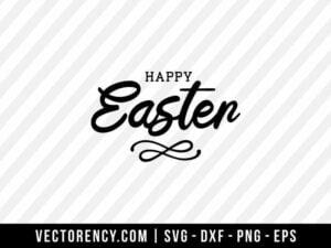 Happy Easter SVG File