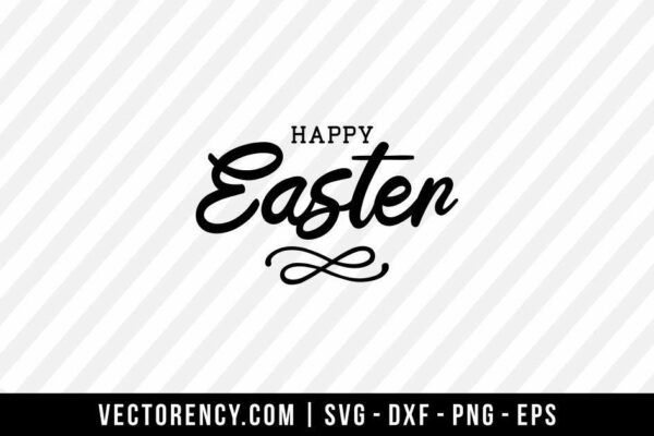 Happy Easter SVG File