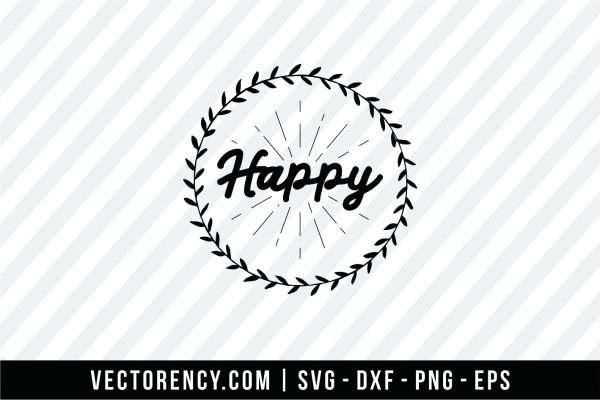 Happy SVG File Format