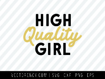 High Quality Girl SVG Digital File