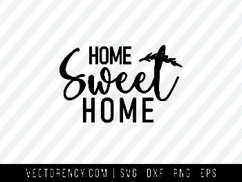 Home Sweet Home SVG Design