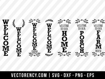 Porch Sign Bundle SVG Digital File