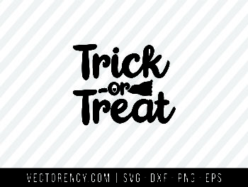 Trick or Treat Halloween SVG File