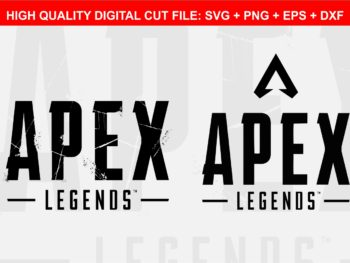 Apex Legends Logo Apex SVG Cut File Monogram Font