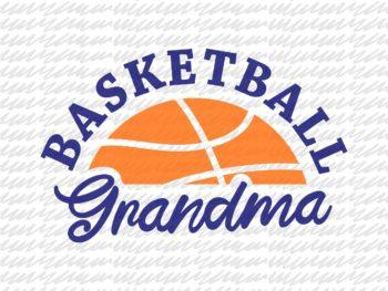 Basketball Grandma SVG Grandmother Shirt SVG