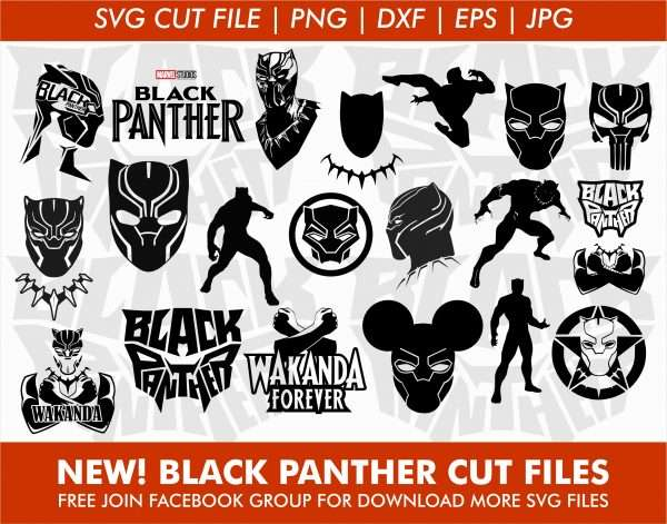 Black Panther SVG Bundles