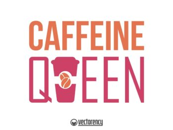 Caffeine Queen Monogram Mug Sweatshirt