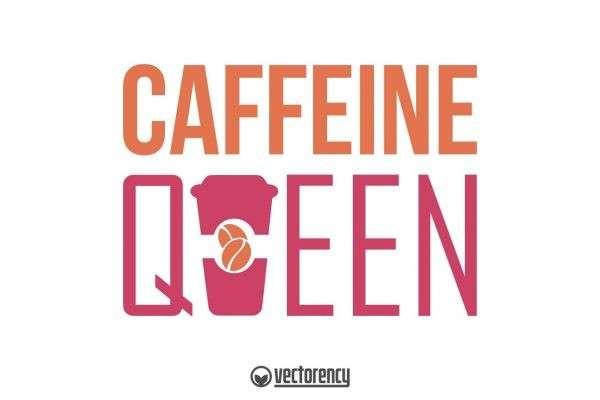 Caffeine Queen Monogram Mug Sweatshirt