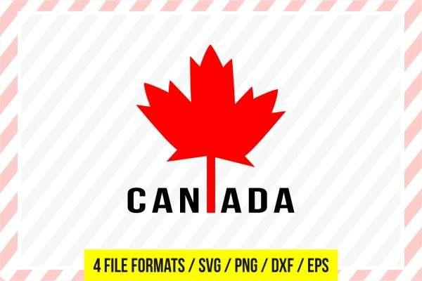 Canadian Flag SVG  Canada Cut File Maple Leaf