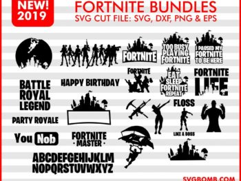 Fortnite Bundles SVG Cut File