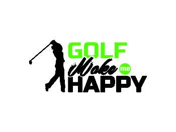Golf Make Me Happy Cut File