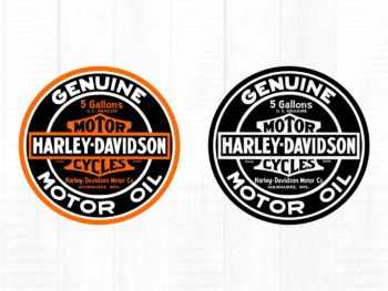 harley davidson digital cut file motor oil svg cut file