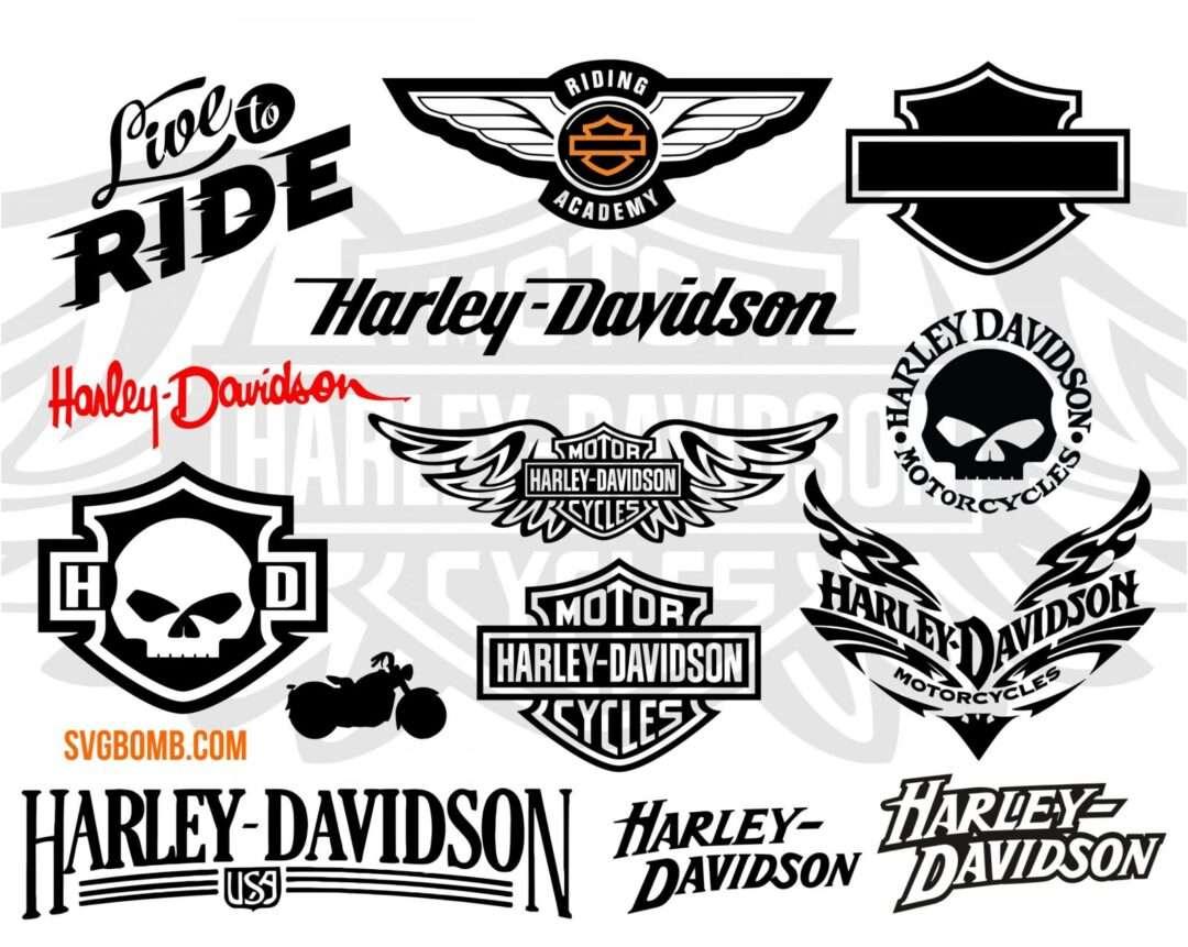 Harley Davidson Svg Cut File Png Dxf Vector Vectorency