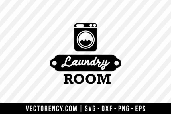 Laundry Room SVG File