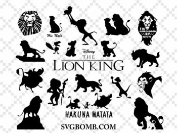 Lion King SVG Bundle Hakuna Matata