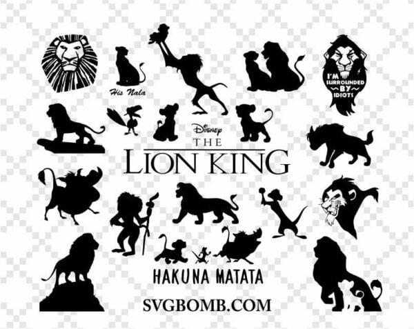 Lion King SVG Bundle Hakuna Matata