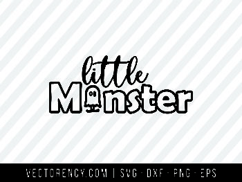 Little Monster SVG File