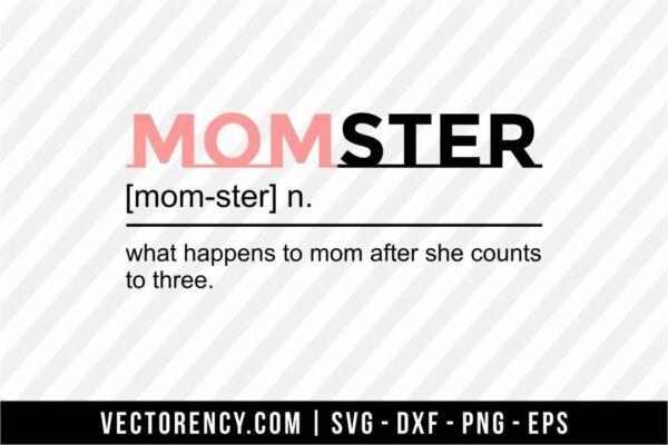 Momster Cut Files