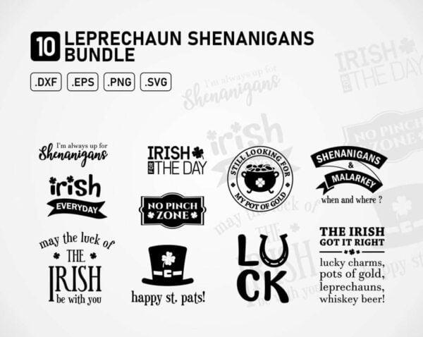 Leprechaun Shenanigans - St Patricks Day SVG