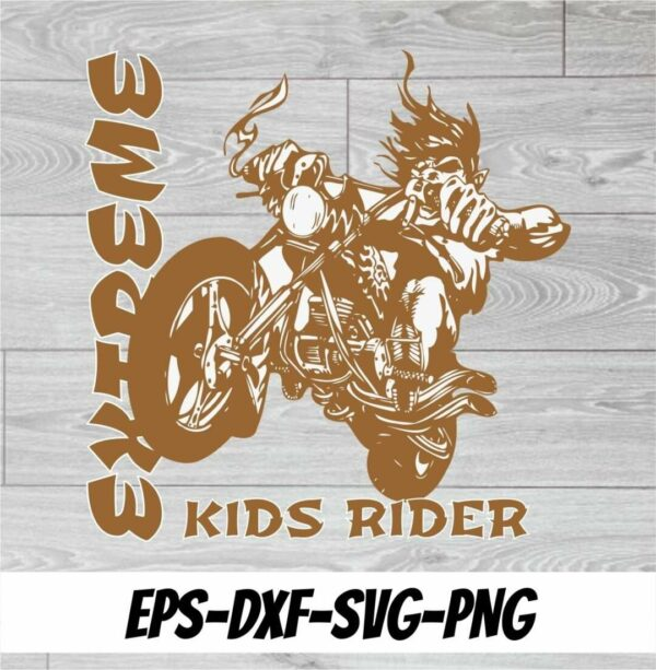 RIDER Vectorency EXTREME KIDS RIDER CUT FILE HIGH QUALITY
