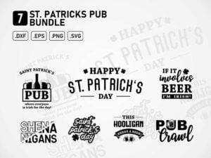 St Patricks Pub - Saint Patricks Day SVG Bundle - JPG