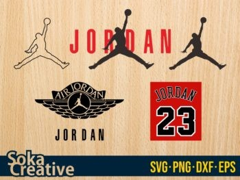 Air Jordan svg bundle nike cut file