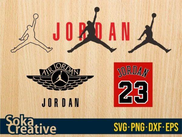 Air Jordan svg bundle nike cut file
