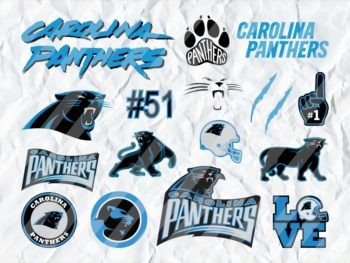 Carolina Panthers SVG NFL Football Logo