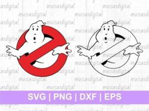 Cuttable Design Ghostbusters Logo SVG