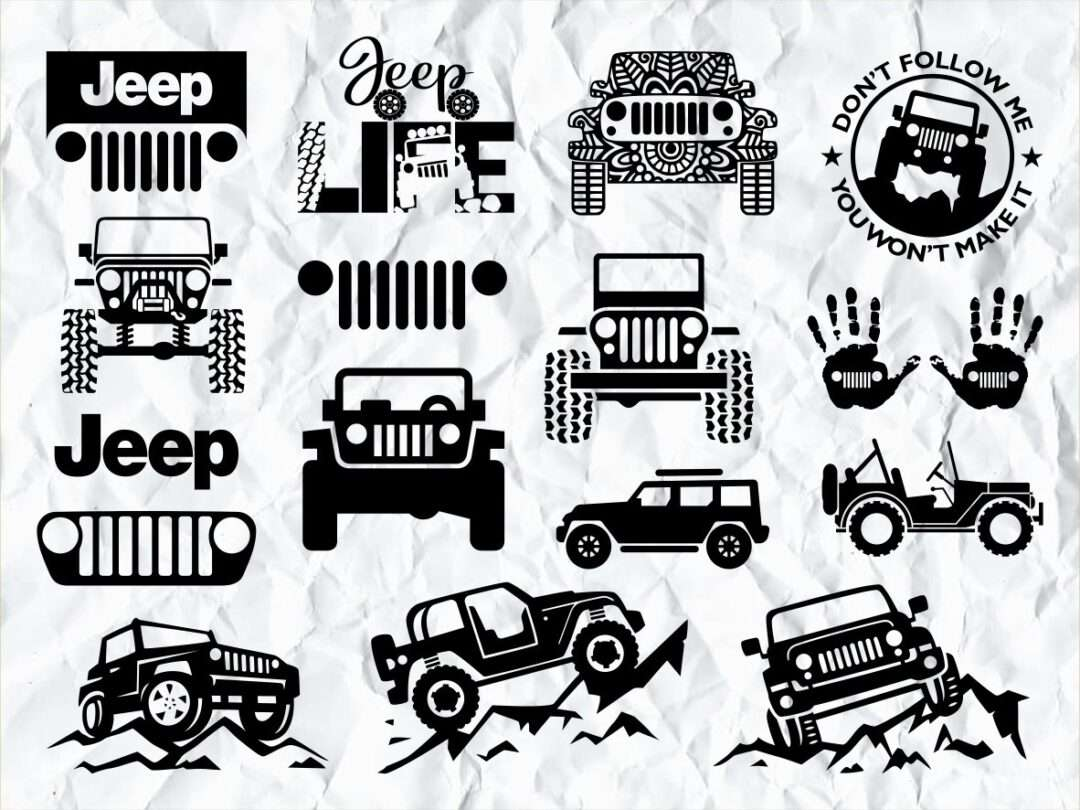 Cricut Jeep Svg Free Svg Cut Files Create Your Diy Projects Using Your Cricut Explore Silhouette And More The Free Cut Files Include Svg Dxf Eps And Png Files