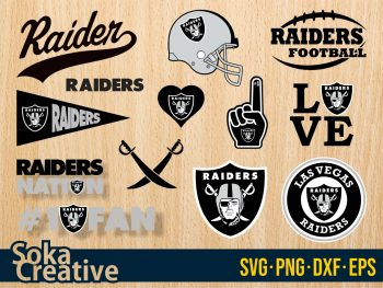 Las Vegas Raiders SVG cut file vector