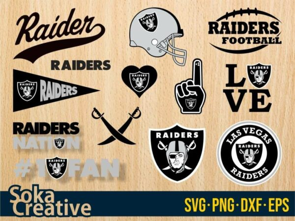 Las Vegas Raiders SVG cut file vector