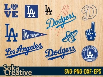 Los Angeles Dodgers SVG Mega Pack