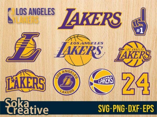Los Angeles Lakers Logo SVG Los Angeles Lakers SVG Cut File
