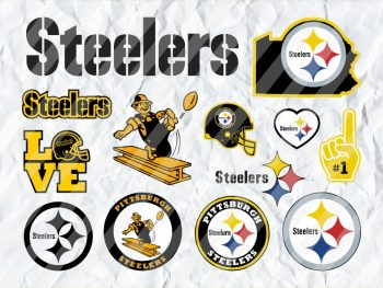 Pittsburgh Steelers SVG Cricut Bundle