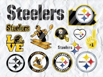 Pittsburgh Steelers SVG Cricut Bundle