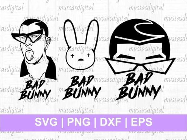 bad bunny svg Vectorency Bad Bunny SVG