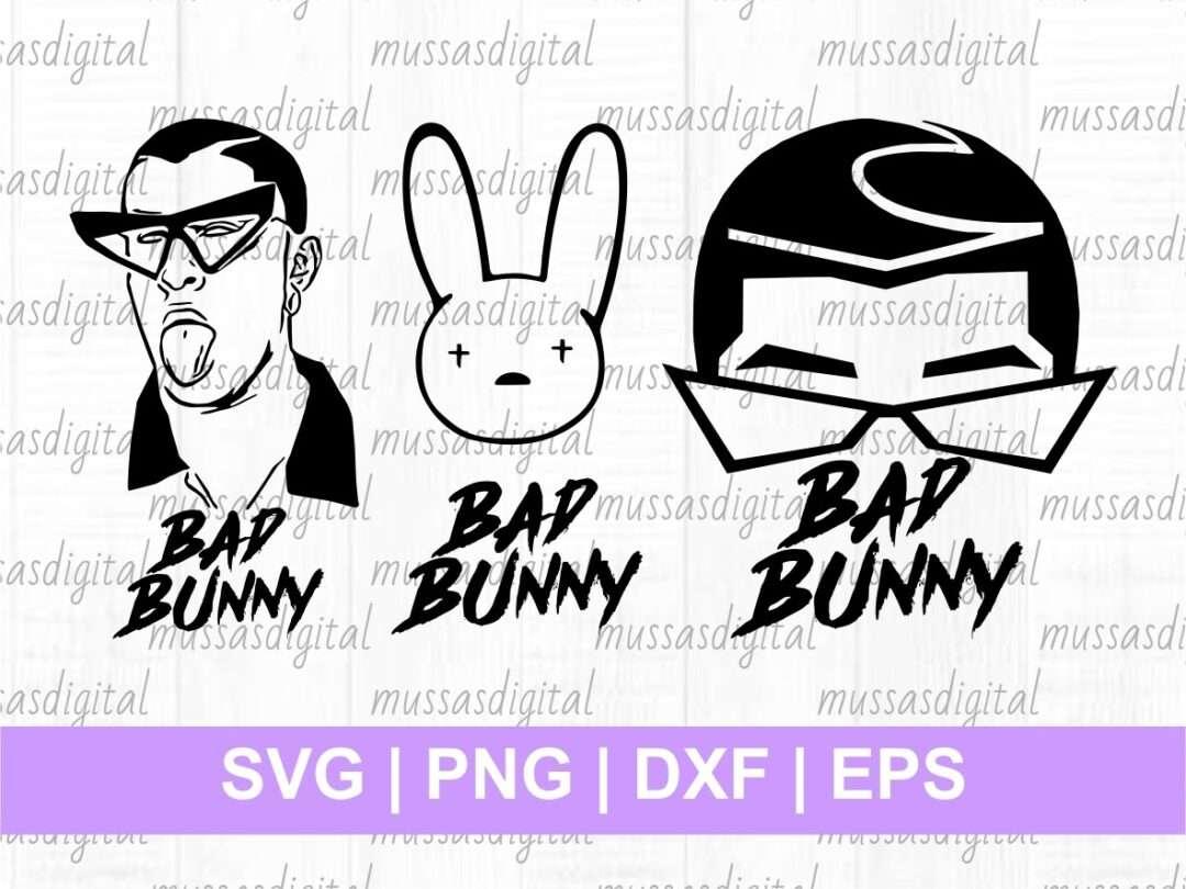 Bad Bunny Svg Vectorency