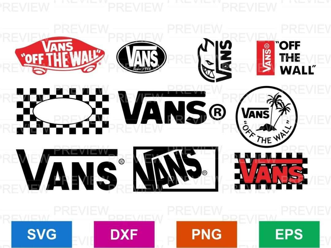 Vans Logo Svg Bundle Vectorency