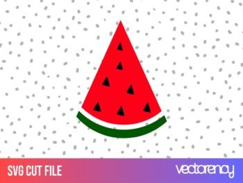 watermelon svg cut file