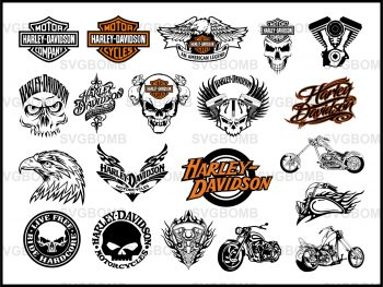 Harley Davidson svg cricut cut file